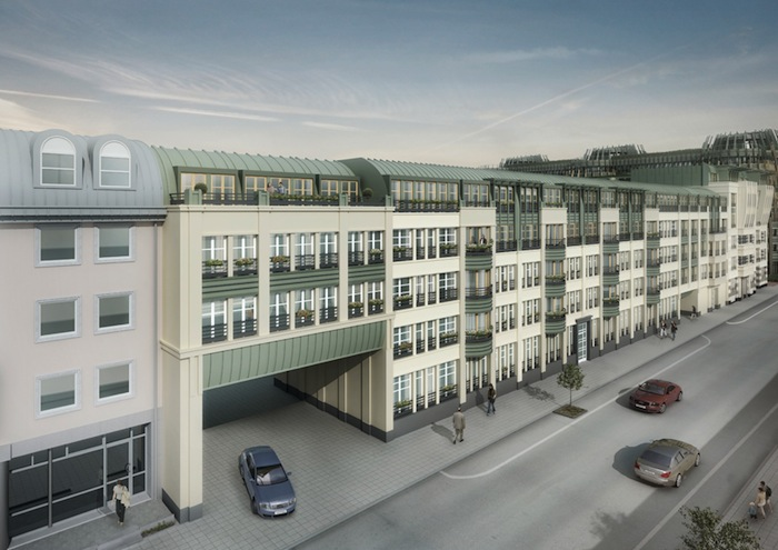 Vizzion europe green square for Appart hotel wavre